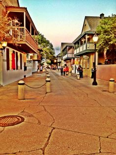 Downtown St. Augustine, Florida