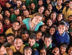 After a decade spenthelping children thrive,in an orphanage she built from the ground in rural Nepal, the New Jersey native has been named CNN's 2015Hero of the Year