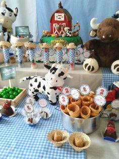 decoração de festa de aniversario infantil tema fazendinha