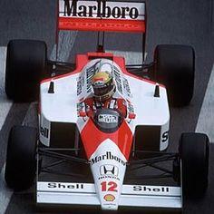 Formula 1 World Champion Ship Monaco GP - Monte Carlo 1988 Ayrton Senna(BRA) Mclaren MP4/4・Honda Marlboro Mclaren Honda F1 World Champion 1988 ・