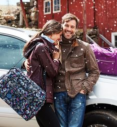 Shop quilted bags and backpacks from Vera Bradley. Accessories Shop, Handbag Accessories, Bramble, Quilted Bag, Beautiful Bags, Vera Bradley, Style Icons, Satchel, Bomber Jacket