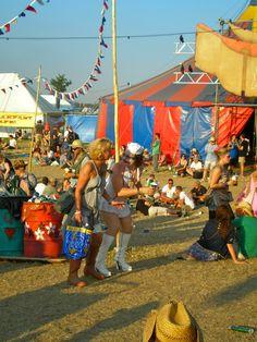 Glastonbury Festival by Clare Gorton