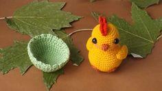 Ручная работа Цыпленок амигуруми