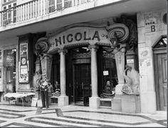 Café Nicola, Rossio - 1975