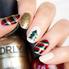 Christmas by so_nailicious  #nail #nails #nailart