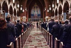 Beautiful cathedral in Johnstown, PA.  Congrats to my college friend Andrew and Lindsay Leech