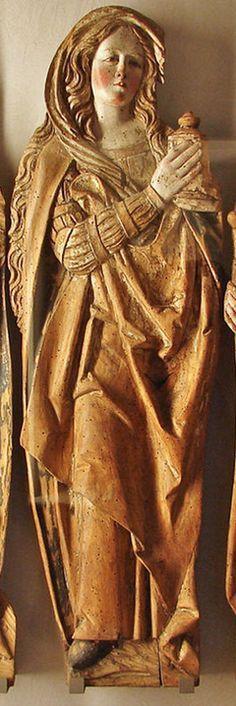 Magdalena Procedència Suàbia s. Religious Icons, Religious Art, Santa Maria, Noli Me Tangere, Gospel Of Mary, Renaissance, Images Of Mary, Mary Magdalene, Sacred Feminine