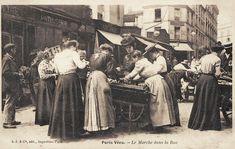 #photo Marchandes des 4 saisons au marché d'Aligre #1900 #PEAV #Paris12 @Menilmuche @souvienstdparis