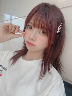 Cute Japanese Women, Japanese Girl, Cute Kawaii Girl, Asia Girl, Beautiful Asian Girls, Makeup Inspiration, Cute Girls, Hair Cuts, Instagram Posts