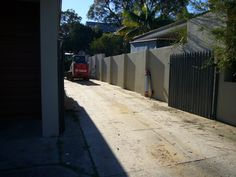 Karrinyup - 2408 - Site assessment before commencement of site -earthworks on a rear strata, small & difficult block