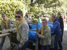 16 scoutinggroepen strijden om de eer tijdens de Jotacross