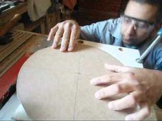 Corte de peça redonda na serra circular - YouTube