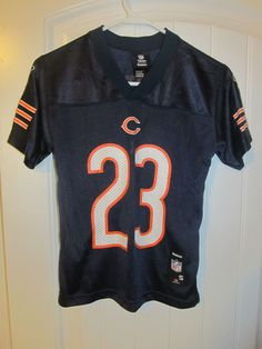 Devin Hester - Chicago Bears Jersey - Reebok youth small  Reebok   ChicagoBears Devin Hester f14049140