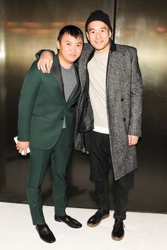 Tommy Ton and Eugene Tong