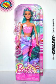 barbie Candy Fashion Mermaid in Box shes stunning!!! #barbie #barbiestyle #matel #mermaid #candy #fashion