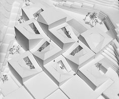 Competition Entry: Istanbul Gülsuyu Cemevi and Cultural Center,Physical Model. Image Courtesy of Melike Altınışık Architects + Gül Ertekin