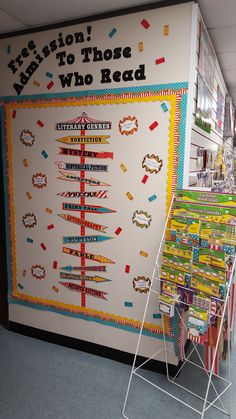 A Carnival-themed bulletin board by our friends at Learning Zone in San Antonio…