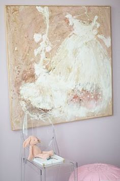 Such a beautiful painting from caitlin wilson design: style files: Olivia's room: part II