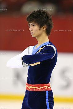 Ryuju Hino, NOVEMBER 17, 2012 - Figure Skating : Japan Junior Figure Skating Championships 2012, Mens Short Program at DyDo Drink Ice Arena, Tokyo, Japan. (Photo by AFLO SPORT) [1156]