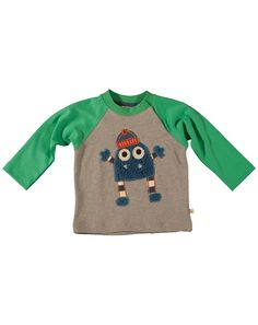 Monster Raglan Top Shirt Blouses, T Shirt, Cute Baby Clothes, Little Ones, Cute Babies, Dress Outfits, Organic Cotton, Sweatshirts, Sweaters