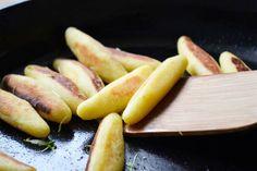 Diese #Kartoffelnudeln sind eine einfache Beilage zu Fleischgerichten. Aber mit grünem Salat ist diese Rezept, auch eine leckere Hauptspeise.