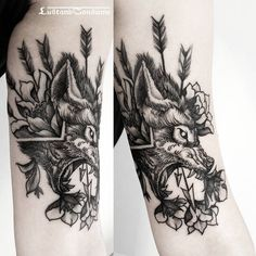 """Wolf head for Anita! thank you and see you soon.  _______________________________________________________________________  Fully booked. Bookings…"""