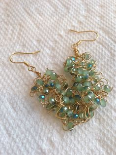 A personal favorite from my Etsy shop https://www.etsy.com/listing/223488141/beading-earrings-dangle-earrings-artian