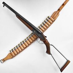 CZ Double-Barrel Side-By-Side Shotgun With A Hybrid Wood/Steel Skeleton Stock