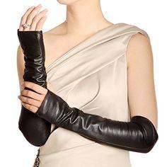 WARMEN Women Genuine Nappa Leather Elbow Long Fingerless Driving Gloves for Fur Coat (M, Black) WARMEN http://www.amazon.com/dp/B008JST4QQ/ref=cm_sw_r_pi_dp_eGDKub165Y1HX