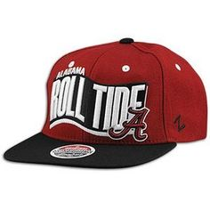 2dce622047e Zephyr Rally University Of Alabama Crimson Tide Snapback Hat Burgundy. Size   by Zephyr.