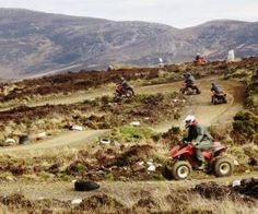 Set in the dramatic landscapes and the wilds of Inishowen, Inishowen Quad Safari was set up in 2008 by the Mc Laughlin family. Ownin - Please Like & Share Ireland With Kids, Stuff To Do, Things To Do, Donegal, Days Out, Quad, Safari, Monster Trucks, Country Roads