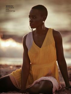 Lupita Nyong'o, break out star of 12 Years a Slave.