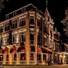 This authentic heritage hotel in rough around the edges IJmuiden dates to 1908. Netherlands, Palace, Restaurant, Country, World, Hotels, The Nederlands, The Netherlands, Rural Area