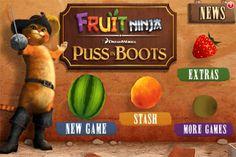 あのフルーツ嫌いな忍者が有名作品とタイアップ! 「Fruit Ninja: Puss in Boots」 | ゲームタイムズ