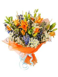 Лучшие букеты из экзотических цветов — img 9