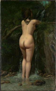 Gustave Courbet, La Sorgente, 1862