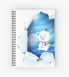 Shop Tear It! ~ Snowbaby Line designed by We~Ivy. Spiral Notebooks, Line S, My Themes, Website Themes, Beach Towel, Ivy, Snowman, Frozen, My Arts
