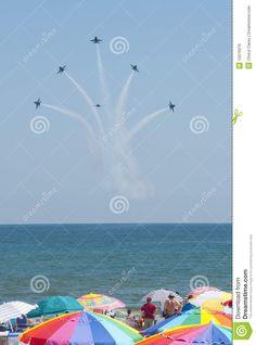 Blue Angels Pensacola Beach Airshow Editorial Photo - Image of beach, event: 15076976 Pensacola Beach, Blue Angels, Air Show, Life Is Beautiful, Seaside, Beach Mat, Editorial, Royalty, Coast