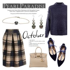 """October by Pearl Paradise"" by pearlparadise ❤ liked on Polyvore featuring Steve Madden and Hermès"