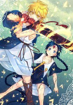 Magi Aladdin and Alibaba