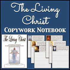 LDS Notebooking: The Living Christ Copywork Notebook