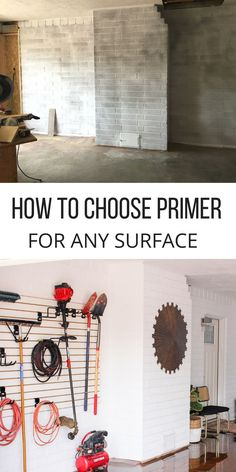 With so many different types of surfaces to paint it can be a challenge to decide what primer is the best to use.  Check this well organized list of options- it makes finding the right primer easy! How to choose the primer for any surface.