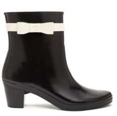 155dd4e63fa Kate spade Paloma short Rubber bow Rain Boots New