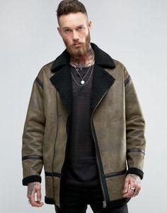 Jackets & Coats Objective 1863 New Fashion Men Genuine Leather Coat Jacket Mens Clothing Overcoat Mens Autumn Jacket Jackets