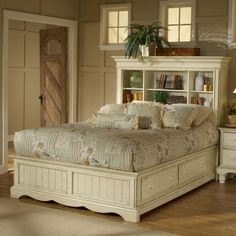 Wilshire Bookcase Storage Bed by Hillsdale
