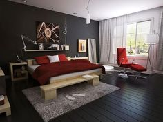 Image result for grey paint ideas for small bedroom