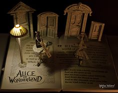 Into the Mystic  Book Sculpture  Book Art  by MalenaValcarcel