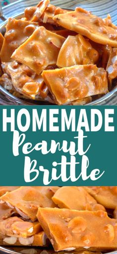 There isn't anything hard or confusing about making Homemade Peanut Brittle, it just takes patience. There isn't anything hard or confusing about making Homemade Peanut Brittle, it just takes patience. Holiday Desserts, Holiday Baking, Easy Desserts, Delicious Desserts, Holiday Recipes, Yummy Food, Christmas Snacks, Christmas Cooking, Christmas Candy
