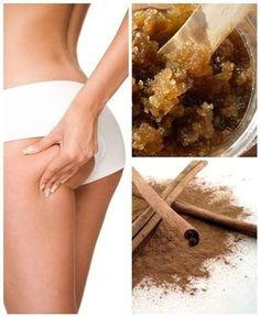 Healthy Beauty, Healthy Skin, Healthy Life, Healthy Living, Beauty Secrets, Diy Beauty, Beauty Hacks, Cellulite Scrub, Lose Lower Belly Fat