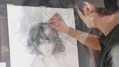 Masaki Mizuno drawing <<< great technique